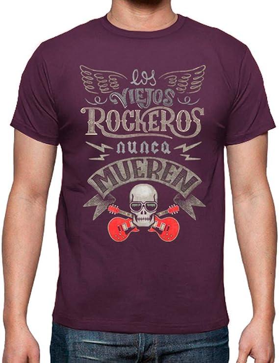Camiseta Rock para Hombre