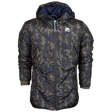 489f0a85b1a2 ellesse Herren Jacke Camouflage Gr. Large, Camouflage  Amazon.de  Bekleidung