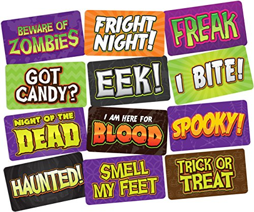 Halloween Photo Booth Props for Halloween Party, Perfect Signs to Use for DIY Booth, Superior Quality Prop Signs Your Guests Will -