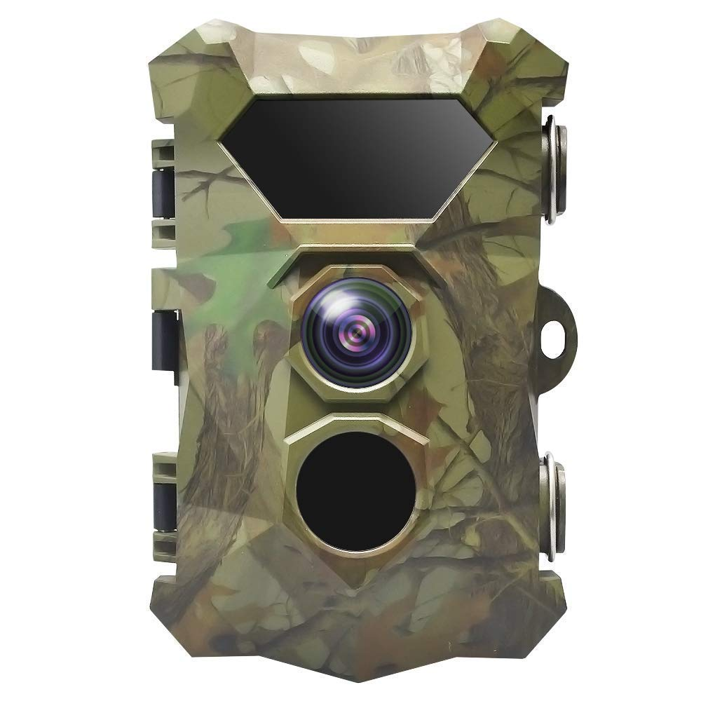 楽天 トレイルカメラ 1080P 16MP 野生動物カメラモーションアクティブナイトビジョン20M と 2.4 LCD ディスプレイ IP66 防水デザイン野生動物狩りとホームセキュリティバージョン   B07Q8K272Q, 勝北町 ff027721