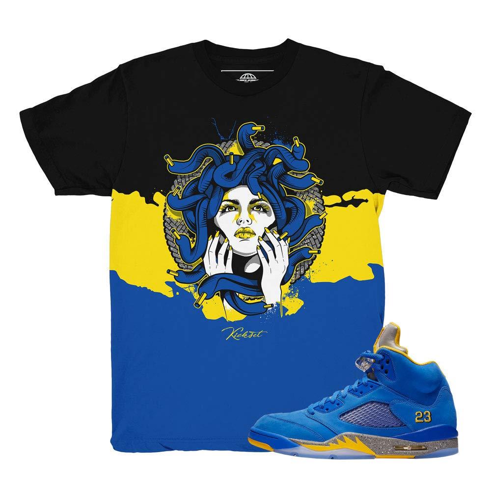 4e861aba744531 Laney 5 JSP Medusa Waves Shirt to Match Jordan 5 Laney JSP Sneakers ...