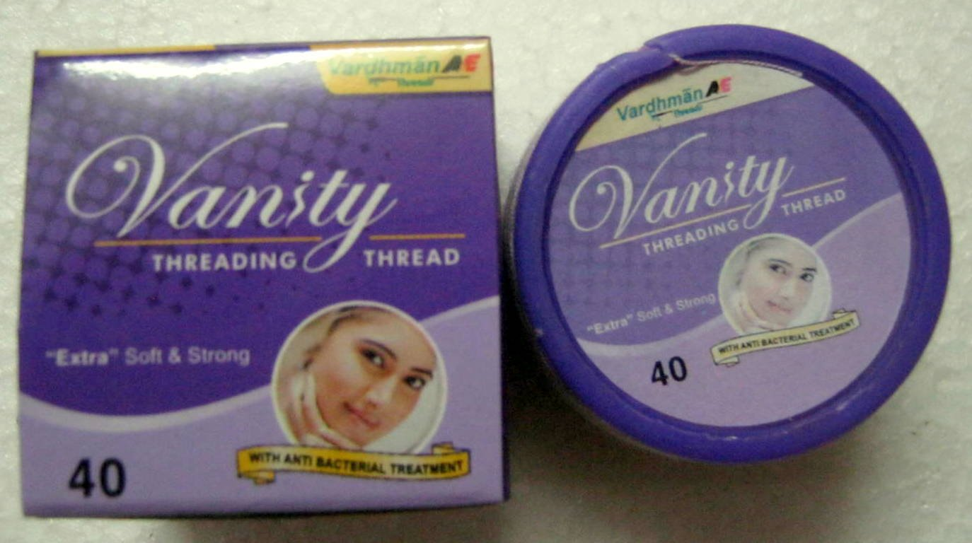 1 Spool x 300m Vanity Eyebrow Threading Thread Extra Soft Strong Anti Bacterial Wardhman Threads