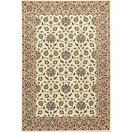 Kingston 6407 Ivory Beige Mahal Size 5 Ft 3 Inches By 7 Ft 7 Inches