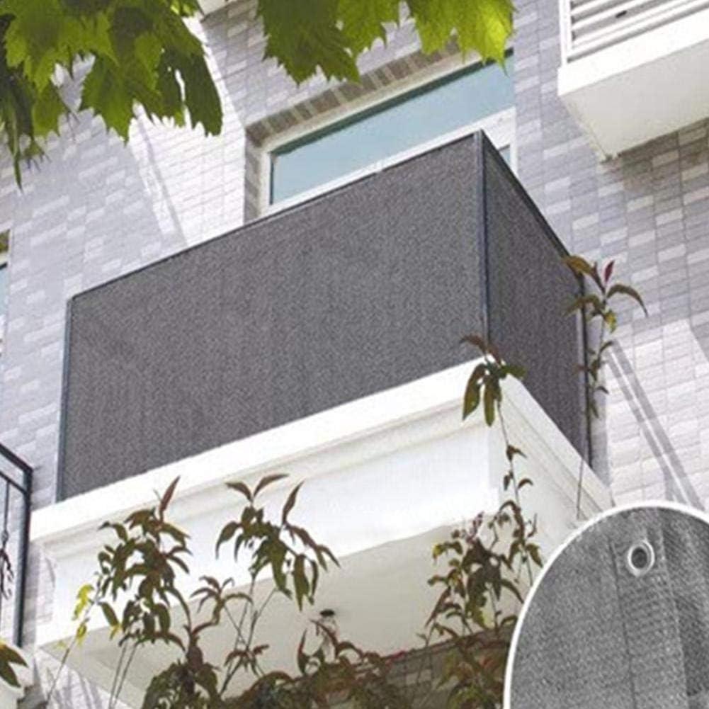 Balcony Cover Privacy Filter,Black Balcony Privacy Screen Fence Cover for Porch Deck Outdoor Balcony to Cover Sun Shade Backyard Patio