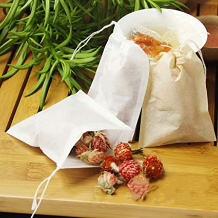 Amazon.com: Cacys-Store - 100pcs/Lot FDA Non-woven Tea Bags ...