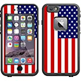 Skin Decal for LifeProof Apple iPhone 6 Case - American Flag