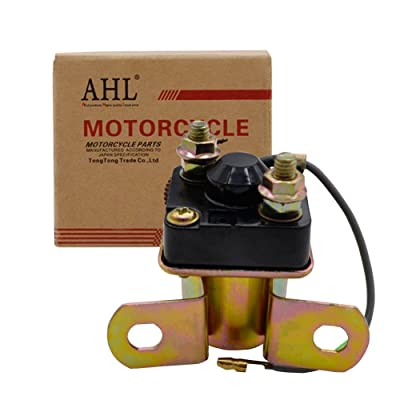 AHL Starter Solenoid Relay for Polaris Trail Boss 250 325 1985-2002 ATV: Automotive