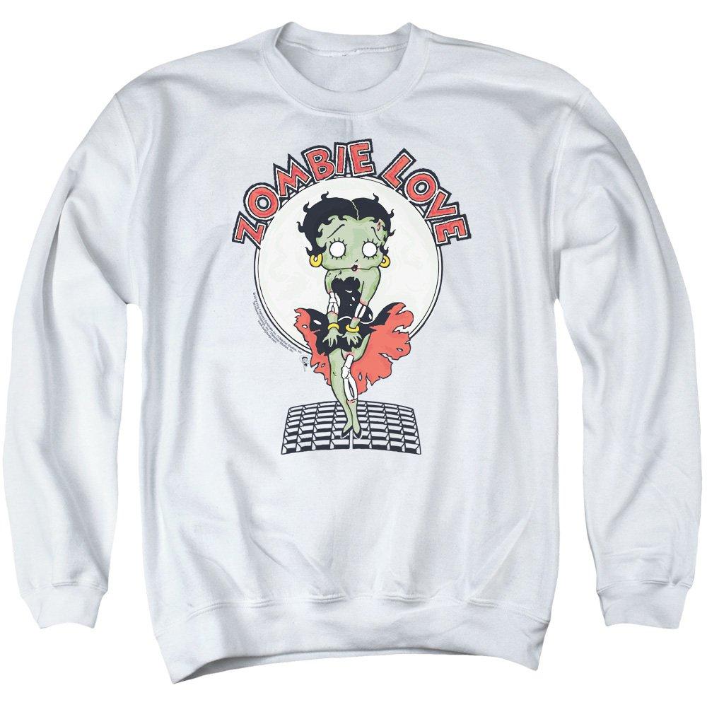 Betty Boop Mens Breezy Zombie Love Sweater
