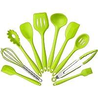 Utensilios de cocina silicona, pinzas cucharas, louches