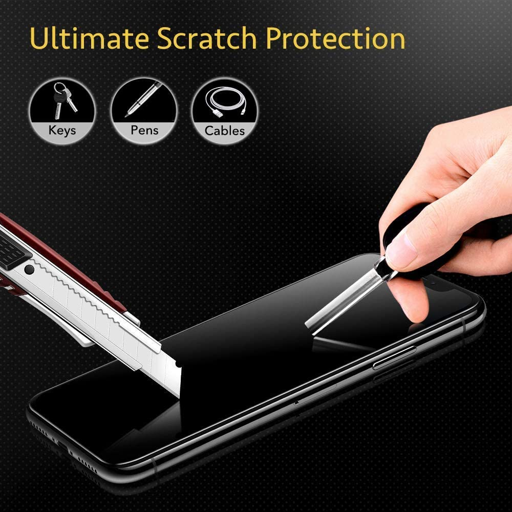 FCLTech iPhone 6 Plus//iPhone 6S Plus Screen Protector Tempered Glass Screen Protector Suitable for Apple iPhone 6 Plus//iPhone 6S Plus, HD Clear Bubble Free Tempered Glass 2 Pack