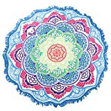Dovewill Multi-functinal Toalla de Playa Baño Colorida-Esterilla de Yoga Bohemia Mandala Tapicería Manta - #5