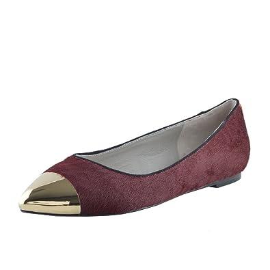 buy popular 4a98b 287c3 Just Cavalli - ballerines-plates Femme: Amazon.fr ...