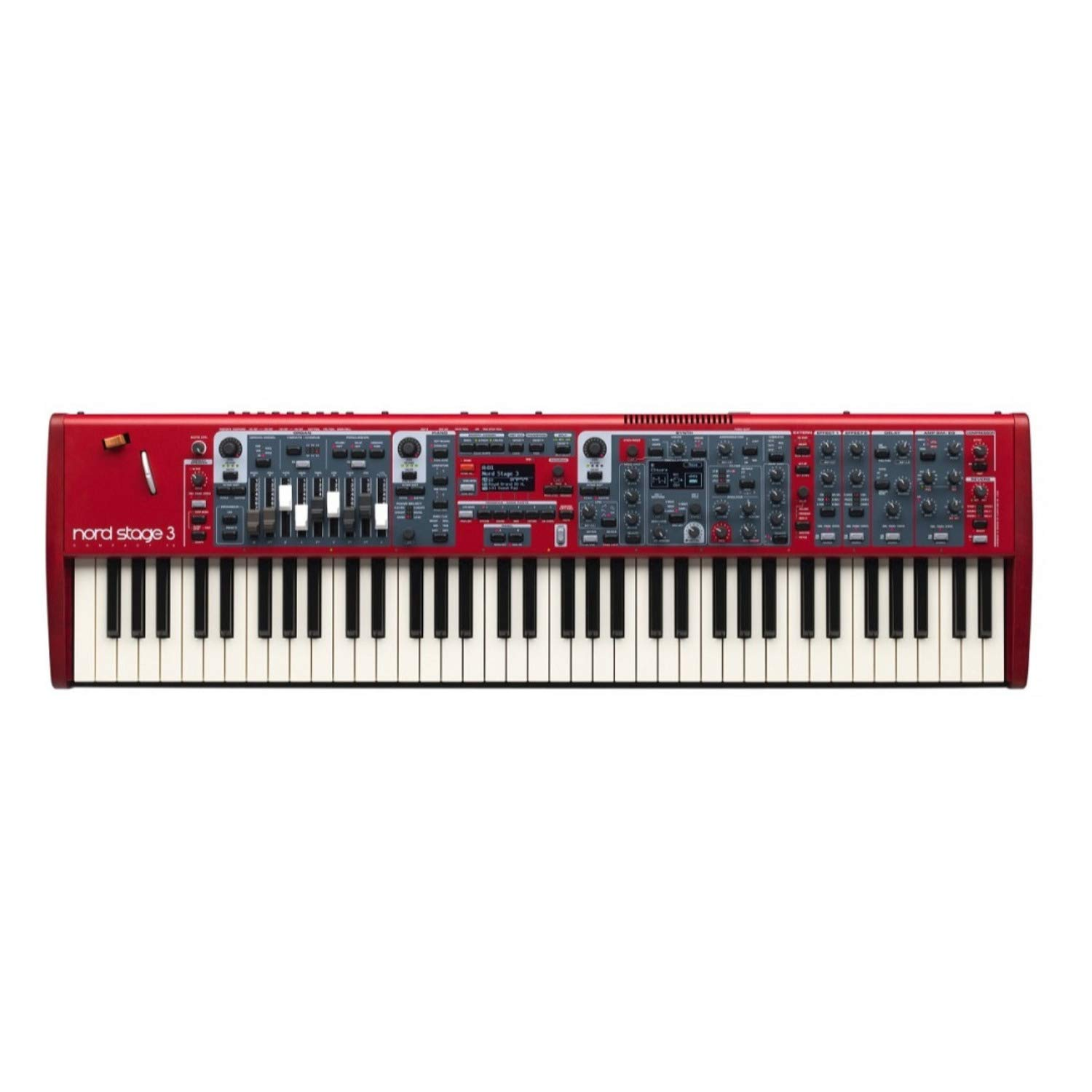 Nord USA Nord 3 Compact 73-Key Digital Stage Piano with Semi-Weighted Keybed (AMS-NSTAGE3-COMPACT) by Nord