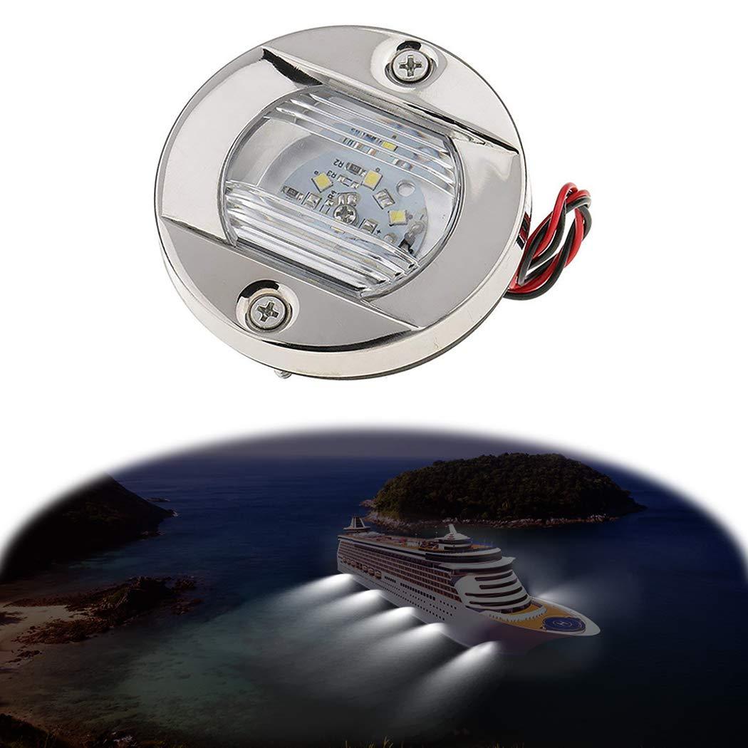 Fansport Boat Transom Light Luce per Barca luci Barca LED luci subacquee Barca LED Poppa Luce Poppa Barca Luce Subacquea Barca