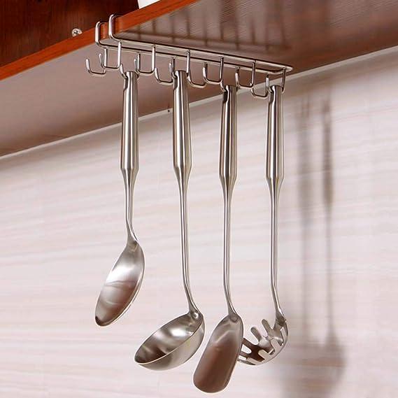 HOUTBY - Gancho para Colgar Tazas de Cocina, para Colgar Debajo ...