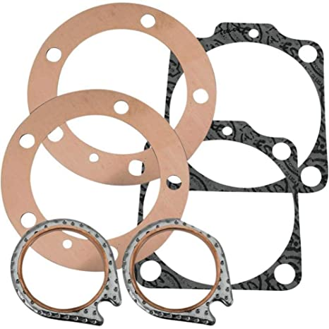 Amazon com: S&S Cycle Head and Base Gasket Kit 90-1918