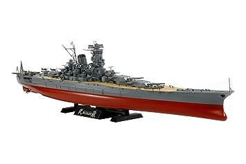 Bois Deck With Anchor Chain For Tamiya 1:350 German Battleship Tirpitz Model