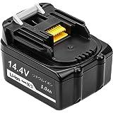 マキタ14.4V BL1450 マキタ互換バッテリー5.0Ah マキタBL1430 BL1460 BL1440リチウムイオン対応一年保証