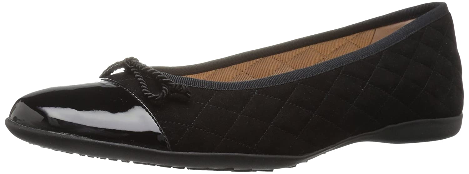 French Sole FS/NY Women's Passportr Ballet Flat B0722YKSYZ 7.5 B(M) US|Black