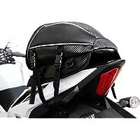 Hanylish Mochila para Motocicleta y Bicicleta Impermeable, Capacidad Pequeña, Ligera, Reflejante, Bolsa de…