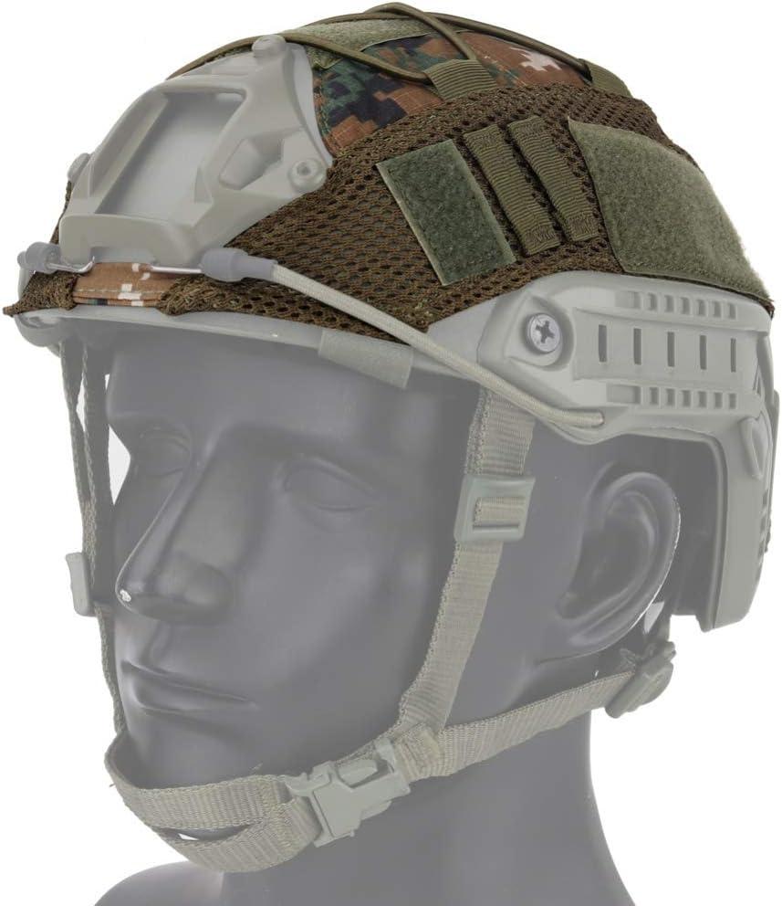 pour CS Wargame Housse de Casque de Sport pour Casque Rapide Ops-Core PJ//BJ//MH de Balai Housse de Casque Tactique
