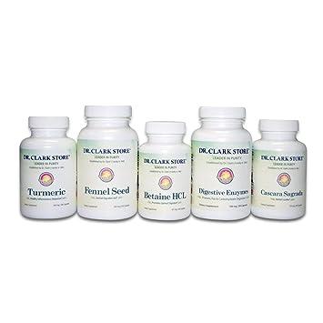 Amazon.com: Dr. Clark la ayuda digestiva Cleanse – Digestivo ...