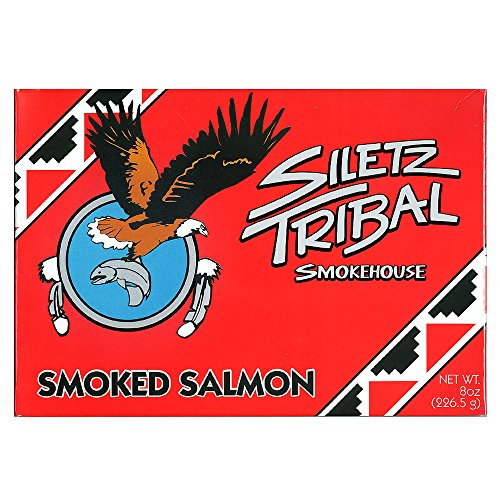 8 Oz Fillets (Siletz Tribal Smoked Salmon Fillet 8 oz.)