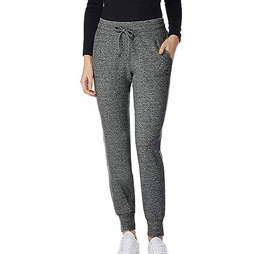 e2092406 Amazon.com: Kulywon Workout Leggings Women Casual Pants Loose Sports ...
