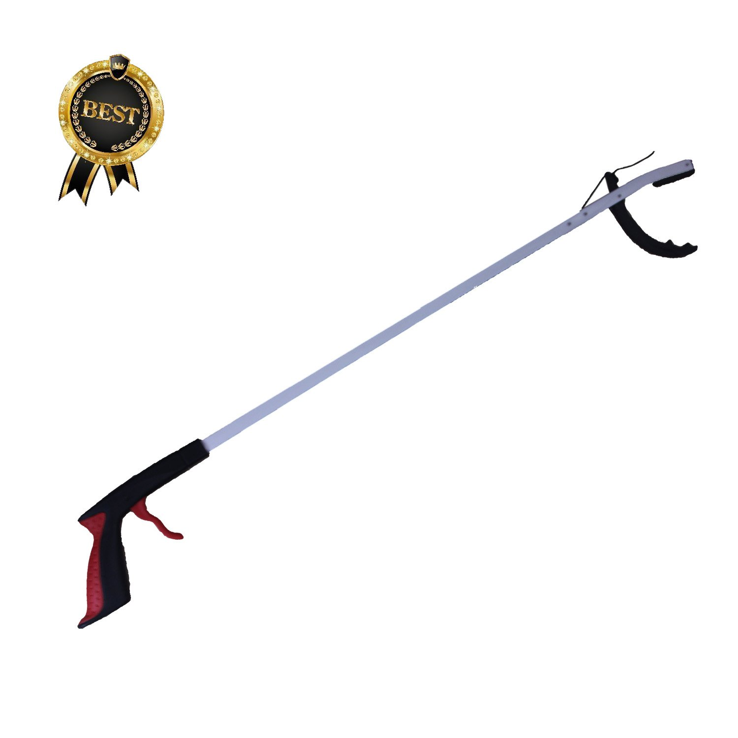 Cojoy 34'' Claw Reacher Grabber Pickup Tool , Extra Long Handy Mobility Aid ,Handy Arm Extender Makes for Trash Pick Up, Litter Picker, Garden Nabber, Disabled by COJOY