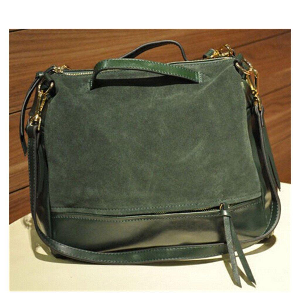 KAKA(TM) Fashion Ladies PU Designer Tote Bags Adjustable Shoulder Handle Handbags-green Postman locomotive package
