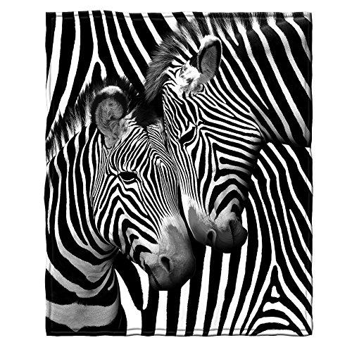 Zebra Throw Blanket - 4