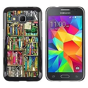 Dragon Case - FOR Samsung Galaxy Core Prime - I want to bring out - Caja protectora de pl??stico duro de la cubierta Dise?¡Ào Slim Fit