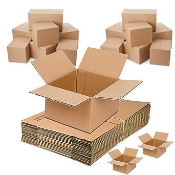 Cajas de cartón para mudanzas, paquete plano, 16x16x16 inch / 40 x 40 x 40 cm, marrón: Amazon.es: Industria, empresas y ciencia