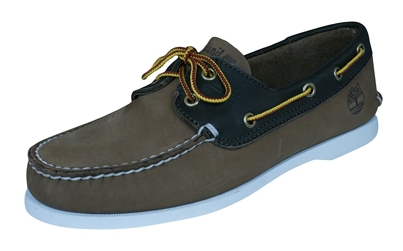 Amazon.com | Timberland Brig 2eye Boat Mens Leather Deck Shoes | Loafers & Slip-Ons