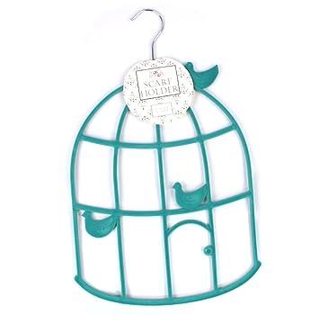 Colgador organizador con forma de jaula de pájaros para bufandas ...
