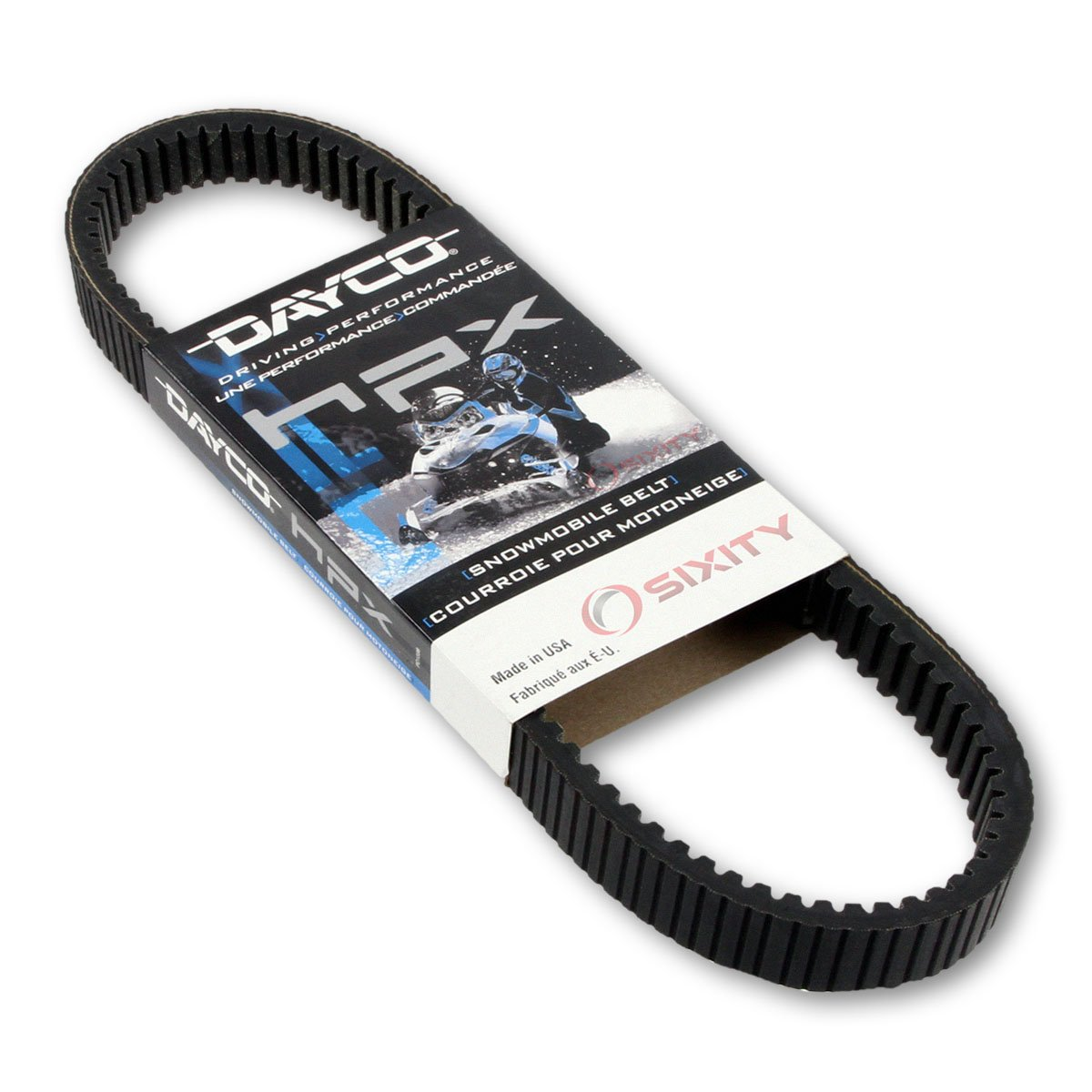 2004-2014 Polaris 600 SwitchBack Drive Belt Dayco HPX Snowmobile OEM Upgrade Replacement Transmission Belts