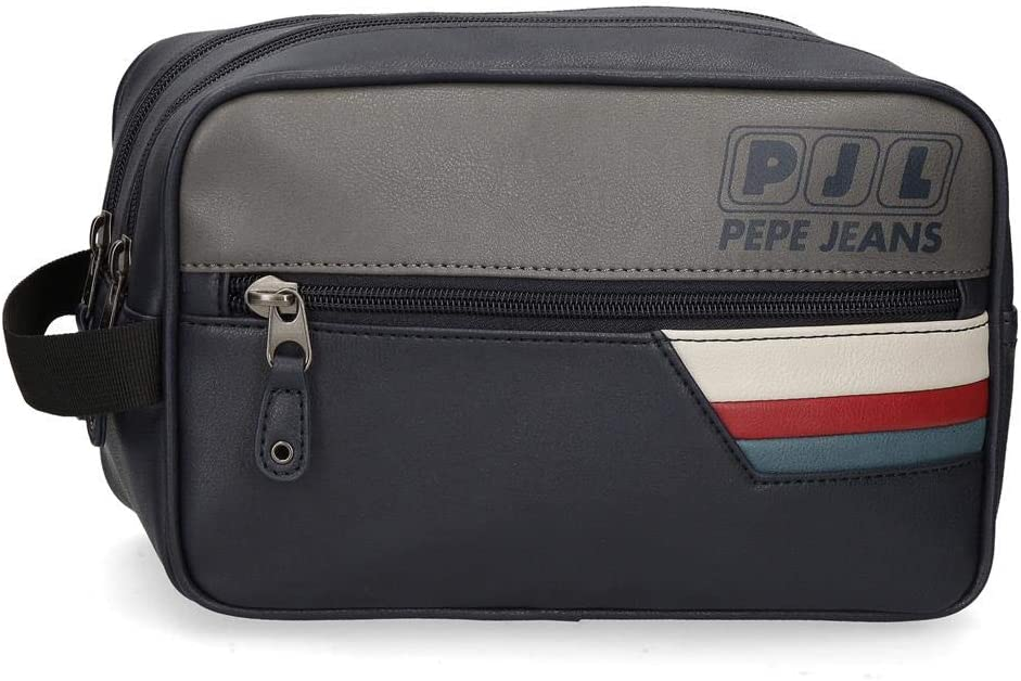 Pepe Jeans Eighties Doble Compartimento Adaptable, Azul, 26 x 16 x 12 cm