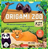 Children and beginners will love folding origami animals of every kind with this easy origami-for-kids kit.Origami Zoo Kit is designed to stimulate your child's imagination and creativity through the age-old art of paper folding. It contains instruct...