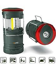 EMPO 2 Lanterna LED Portatile Magnetica da Campeggio Torcia Agganciabile per Esterni