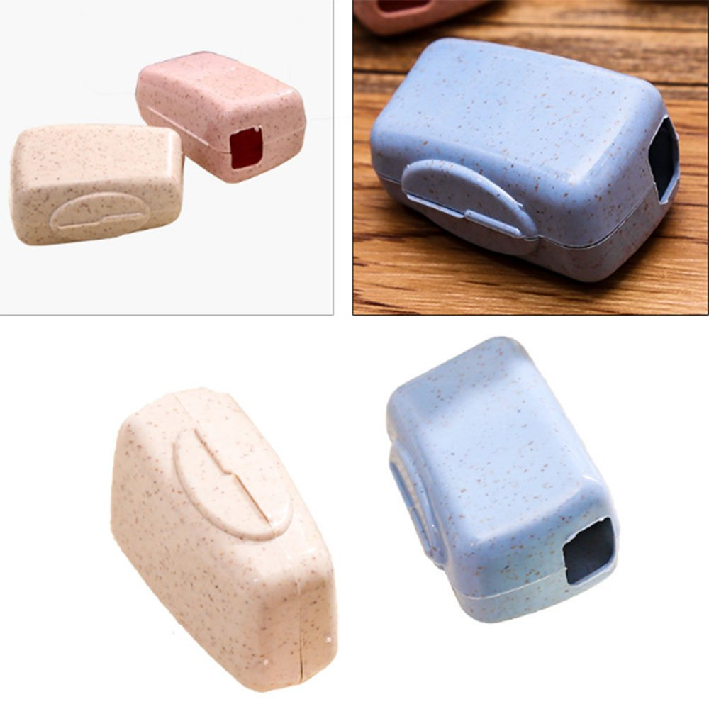 Capuchon de voyage pour brosse /à dents en plastique Allbusky coque de rangement et de protection pour une utilisation quotidienne et en voyage couleur bonbon