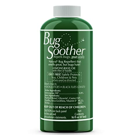 BUG SOOTHER Natural Insect Repellent Spray, 16-Ounces