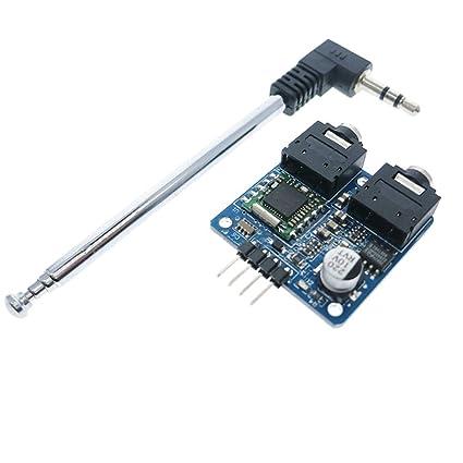 Amazon com: Beaster TEA5767 FM Stereo Radio Module With
