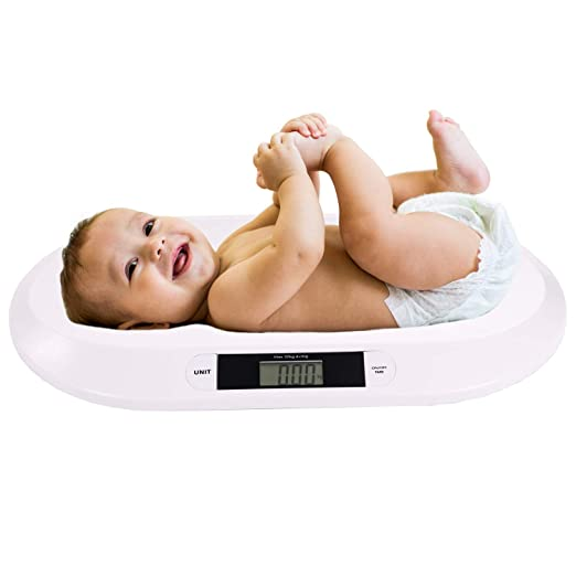 Babywaage Kinder Baby Kinderwaage digital für Neugeborene bis 20kg led