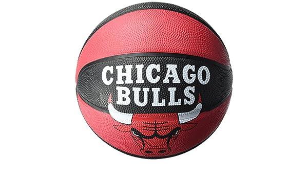Spalding NBA Team Bulls Balones Baloncesto, Negro, 5: Amazon.es ...