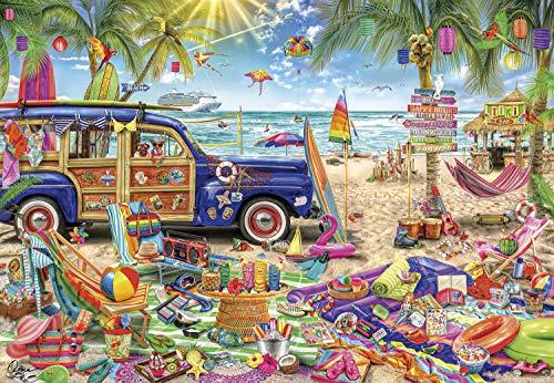 Buffalo Games - Aimee Stewart - Beach Vacation - 2000 Piece Jigsaw Puzzle