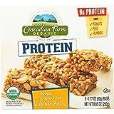 Cascadian Farm Granola Bar - Organic - Protein - Honey Roasted Nut - 8.85 oz - case of 12 by Cascadian Farm