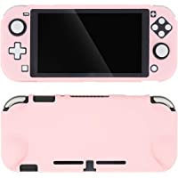 GeekShare Protective Case for Nintendo Switch Lite 2019, Ergonomic Protective Grip Cover for Nintendo Switch Lite (Pink)