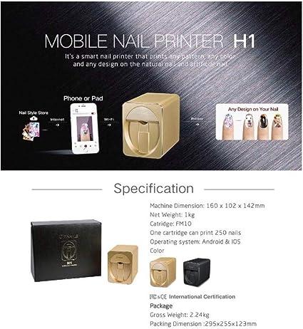 Impresora de uñas O2 móvil M1 3D profesional digital para uñas y ...
