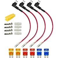 Gebildet 4pcs 32V 20A Micro 2 Add-a-Circuito Portafusibles