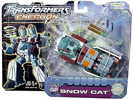 Amazon com: Transformers Energon Deluxe Snow Cat: Toys & Games